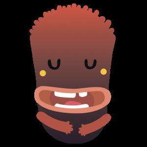 monster Daniel's chin