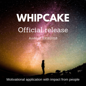 Whipcake official release