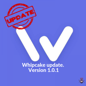 Whipcake update. Version 1.0.1.
